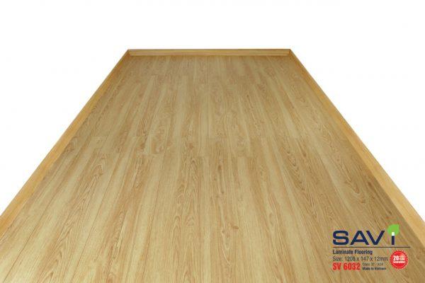 sàn gỗ trong nhà savi 6032