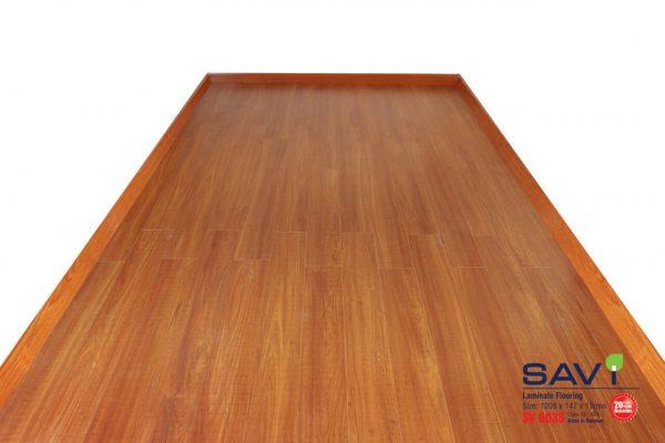 sàn gỗ trong nhà savi 6033